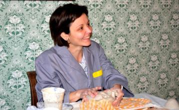 Ustvarjalka Maruša Košir, Foto: Lucija Kavčič